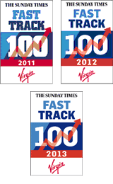 Fideliti Appear in The Sunday Times Virgin Fast Track 100
